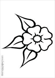Color Pages Flowers Uticureinfo