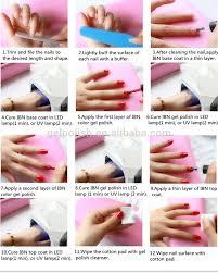 Gel Nails. How To Apply Gel Nail Polish - Nail Arts and Nail ...