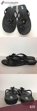 Oka B Ml Flower Quality Thong Flip Flop Sandals Excellent