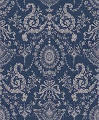 Woolverston Donkerblauw En Zilver 8810043 De Mooiste Muren