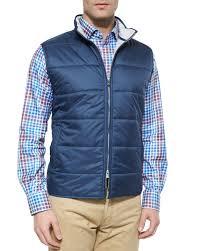 Peter millar Cumberland Quilted Vest in Blue | Lyst & Gallery Adamdwight.com
