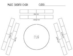 Class 1 A Seating Chart Music Room Seating Chart Template By The Hipster Music Teacher