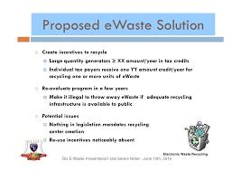 e waste presentation gu e waste presentation ole sereni hotel 10th 2010 22
