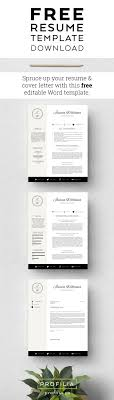 Best 25 Free Cover Letter Templates Ideas On Pinterest Job Cv