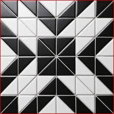 Black And White Patterned Floor Tiles Unique Tile Mosaic Patterns 48 Artistic 48 Black White Triangle Tile