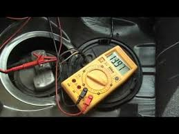 how to test a fuel pump volt meter how to test a fuel pump volt meter