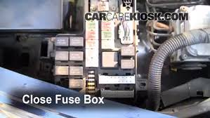 replace a fuse 1998 2003 dodge durango 2000 dodge durango 5 2l v8 6 replace cover secure the cover and test component