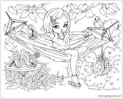Cute Hard Coloring Pages Coloring Page Free Printable Coloring