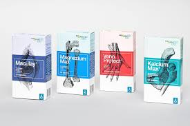 Medical Product Packaging Design Zada Food Supplements Medicine Packaging On Behance