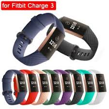 for Fitbit Charge 3 Silicone Strap Sports Watch Bands Small ... - Vova