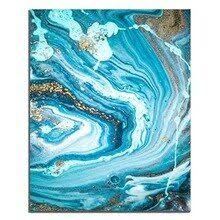 <b>Laeacco Canvas</b> Painting Calligraphy <b>Abstract Watercolor</b> Posters ...