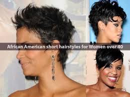 Short Hair Style For Black Girls african american short hairstyles for women over 40 hairstyle 1398 by stevesalt.us