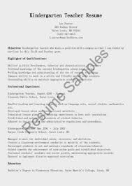 Template Teaching Resume Examples Teacher Templates Microsoft