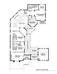 luxurious 2 story 4 bedrooms 3 1 2 baths home plan 4537 01125 Architectural House Plans In Botswana house plan second floor plan 3 Bedroom House in Botswana