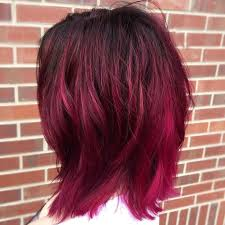 what color is magenta hair.
