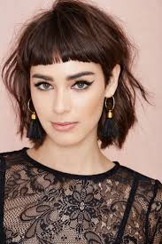 Hairstyles With Blunt Fringe 16 Great Short Shaggy Haircuts For Women Hair Hairstyles And