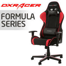 gaming chairs dxracer. Plain Chairs DXRacer Formula Series Black U0026 Red Gaming Chair  OHFH11NR In Chairs Dxracer M
