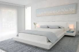 White Bedroom With Color Accents White Cream Silk Curtains Natural Brown  Laminated Oak Tiles Small Black