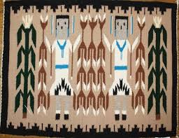 picture of yei navajo rug fc
