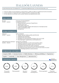 Resume Examples By Real People Student Law Internship Sample For