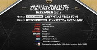college football playoff semifinals