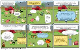 animal farm by george orwell storyboard by examples