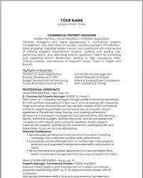 Apartment Property Manager Resume Sample - Apigram.com