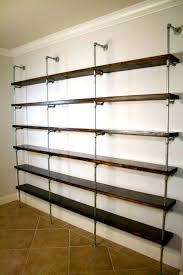 shelves for office. Industrial Shelving Unit - Office Furniture Urban Pipe Metal And Wood Shelf Shelves For F