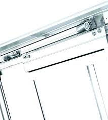 automated sliding door mechanism self closing commercial fixed panel automatic glass slid