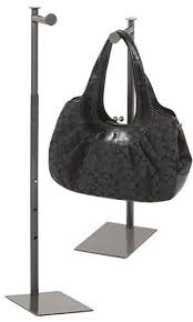 details about purse stand countertop counter display handbag steel adjustable heigh 24 36