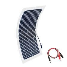 <b>BOGUANG 18V</b> 10w solar panel kit Transparent <b>semi flexible</b> ...