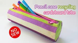 diy crafts pencil case recycling cardboard no sew innova crafts you