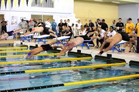 dod warrior games army athletes compete in swimming trials for dod warrior games 2015