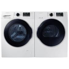 Compact Front Load Washers Samsung 26 Cu Ft High Efficiency Front Load Steam Washer