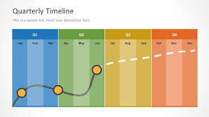 Calendar Quarters Quarterly Timeline Template For Powerpoint Slidemodel