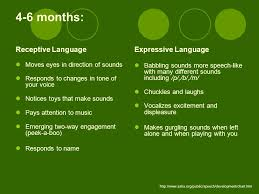 Asha Language Development Chart A Preschool Teachers Guide To Speech And Language