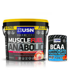 usn muscle fuel anabolic 4kg free usn bcaa amino gro 300g available at monstersupplements monster supplements