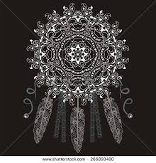 What Is A Dream Catcher Used For Dream Catcher Protection American Indians Abstract Stock Vector 94