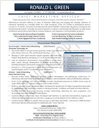 Marketing Resume Examples Sample Objectives Mar Sevte