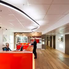 scandinavian office design. perfect scandinavian inventive use of overhead lighting to add a fun energy the reception  space to scandinavian office design r
