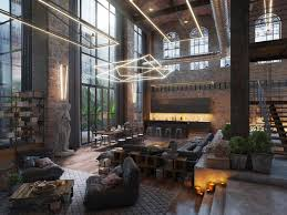 industrial loft lighting. Interesting Industrial This Loft Living Space Symbolizes The Efficient Synergy Between Renaissance  Art And Contemporary Lighting Ideas Throughout Industrial Loft Lighting A