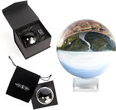 <b>Clear</b> Crystal Ball   <b>K9</b> Glass Lens Photo Sphere   Includes Box ...