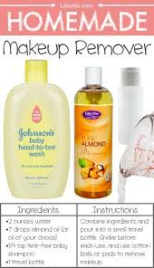 homemade makeup remover 22 everyday s you can easily make from