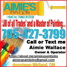 local s apply for all interior painting and finishing we also love to barter ask me about tradebank we are open for any paint job you have