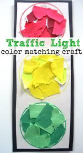 Color Matching Activity Traffic Light