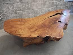 coffee table teak live edge coffee table live edge coffee table portland oregon surprising