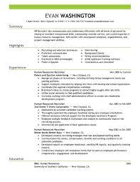 Gallery Of Resume Sample Professional Resume Sample Recruiter