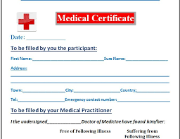 11 Medical Certificate Templates For Leave Pdf Doc Free