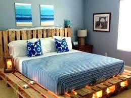 wooden pallet bed pallet wood bed frame bed frame with lights pallet wood bed pallet wooden