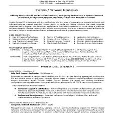 Write A System Computer Network Support Technician Resume For Bachelor  Computer Science Format 13 Support Technician